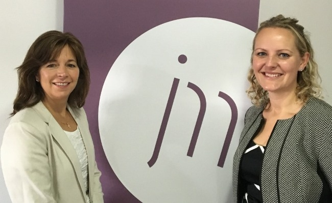 Wealth of expertise - Jones Myers new children's law specialist, Jane Bolton (right) with Kate Banerjee