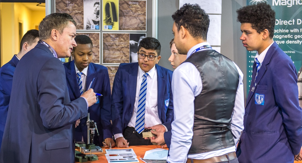 Students at last year's Magna careers event