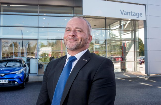 Toyota Dealership Everett >> Parkin moves into driving seat at Vantage Toyota Wakefield ...